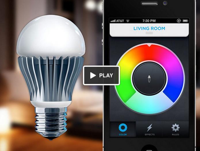 Приложение управление светом на телефоне