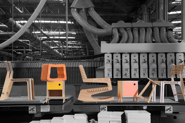 Креативная мебель из коллекции Mono от Studio dLux