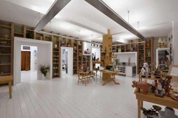 Современная мебель из картона от BYTR Architects в магазине