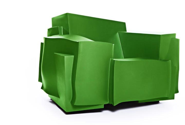 Шикарный стул в зеленом цвете от Studio Dror