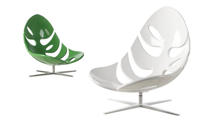 Необычное кресло в виде природного листа от Philip Ahlström