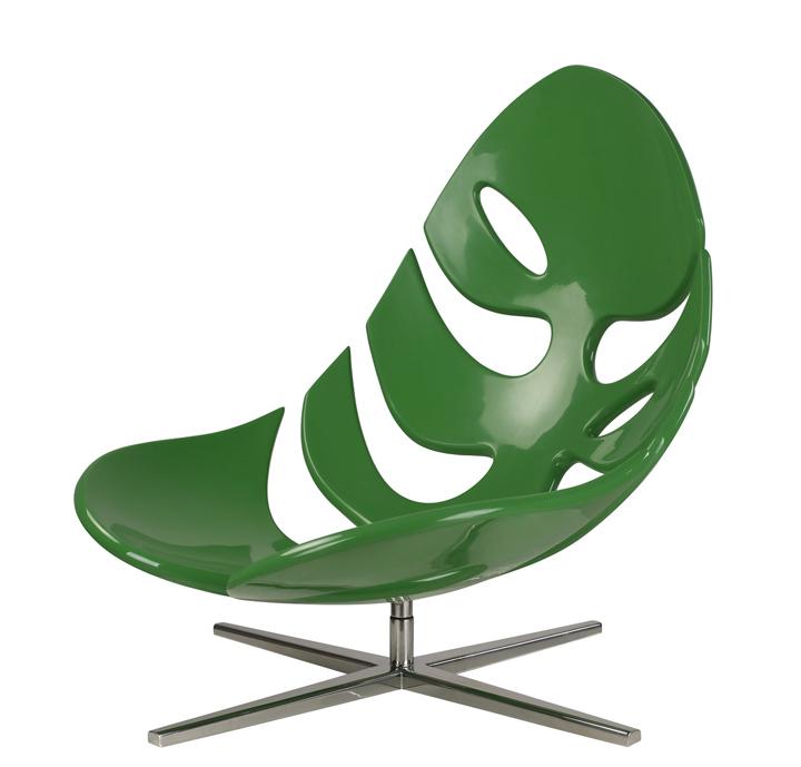 Чудесное кресло в виде природного листа от Philip Ahlström