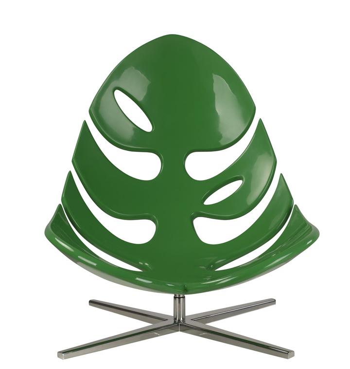Прекрасное кресло в виде природного листа от Philip Ahlström