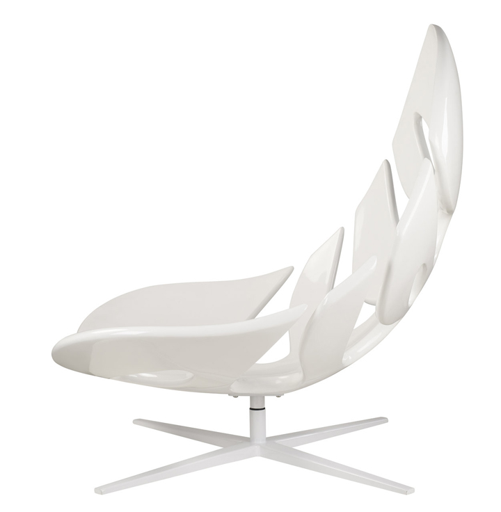 Креативное кресло в виде природного листа от Philip Ahlström