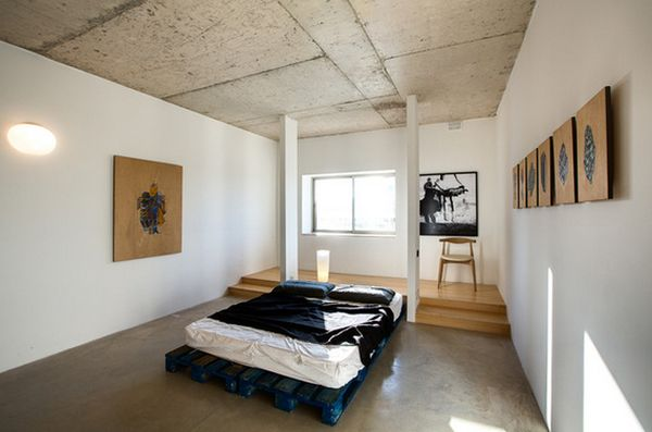 кровать из деревянных поддонов 30 идеи для воплощения