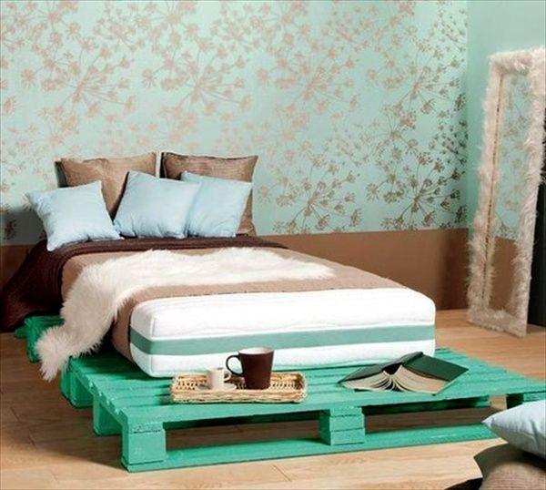 Кровати из поддонов своими руками пошагово фото