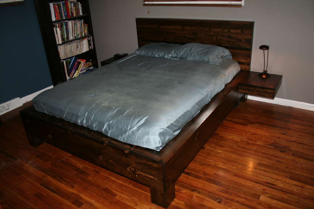 2 спальная кровать своими руками