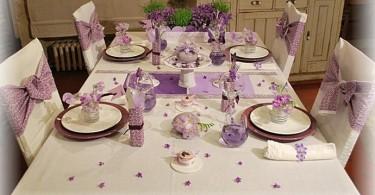 Красивая сервировка стола