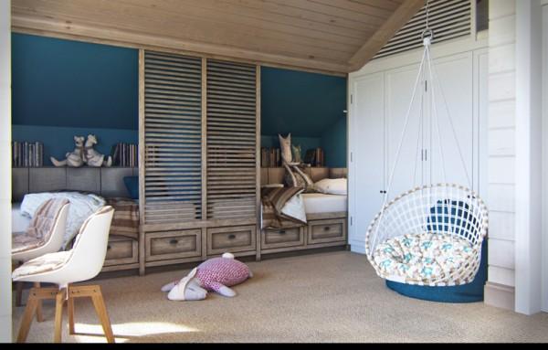 Квартиры в стиле прованс: изумрудные стены в детской
