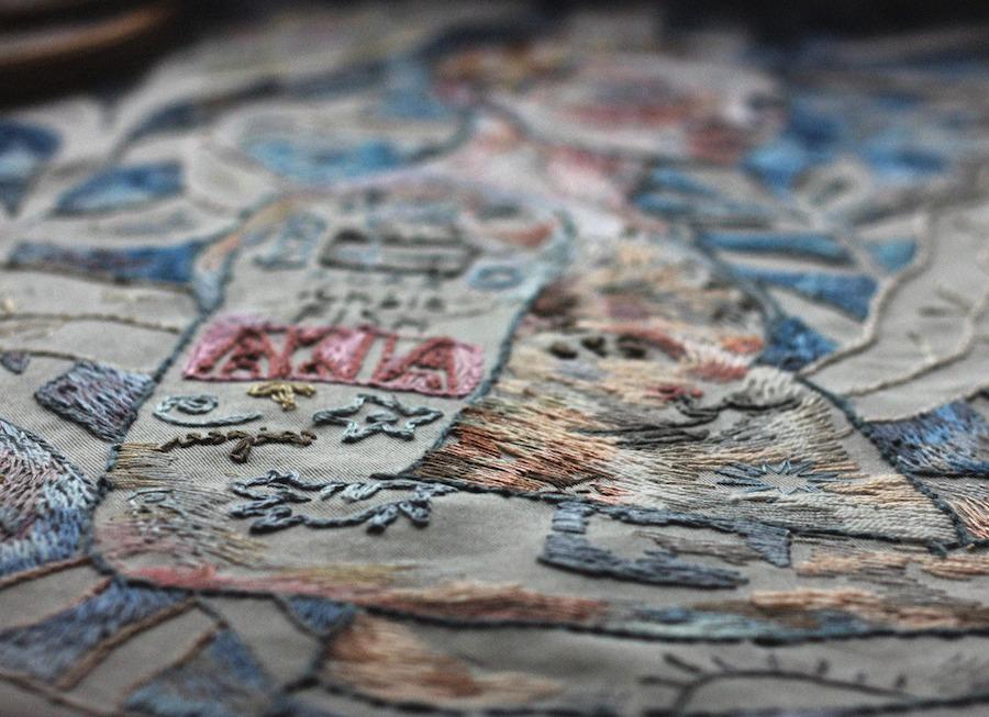 Вышитые картины из коллекции Лизы Смирновой