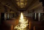 Световые картины с анимированными изображениями городской среды