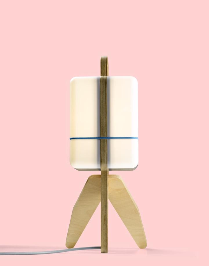 Креативная лампа от Jos Blom