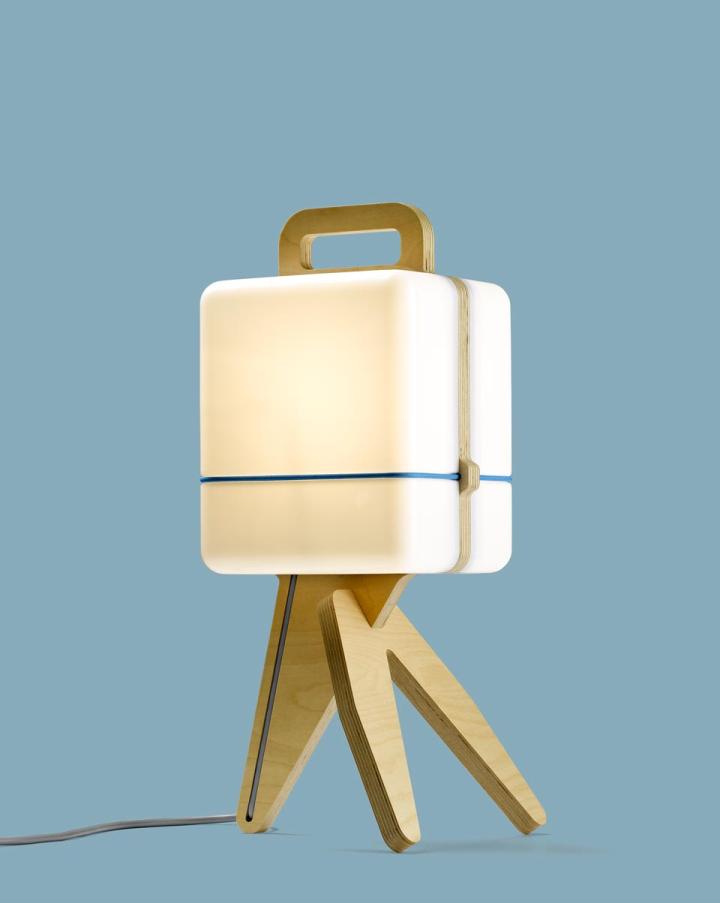 Оригинальная настольная лампа Henk