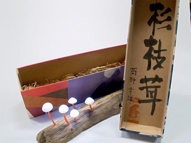 Красивые светильники в форме гриба от Yukio Takano