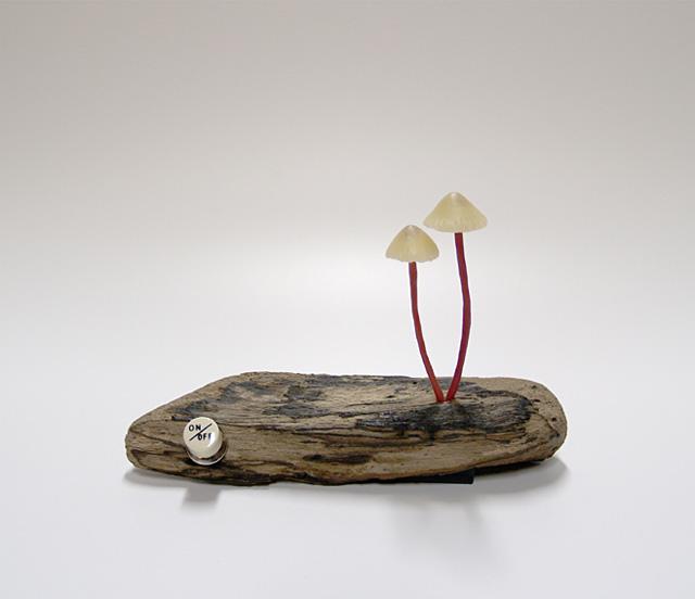 Удивительные светильники в форме гриба от Yukio Takano