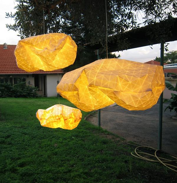 Великолепный дизайн светильника от Mika Barr