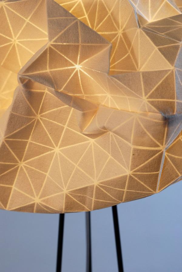 Удивительная лампа-облако от Микки Бара