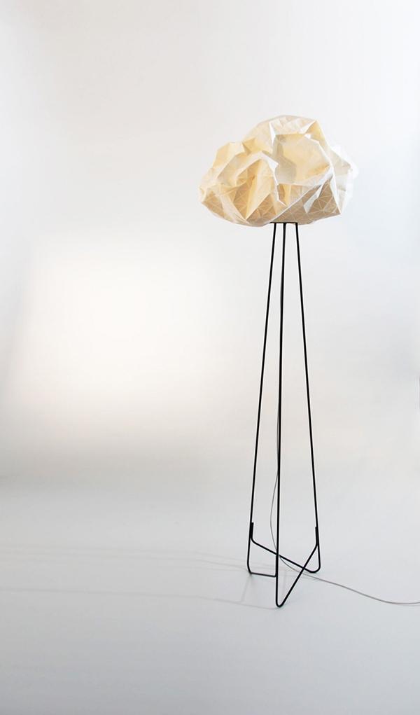 Фигурная лампа от Микки Бара