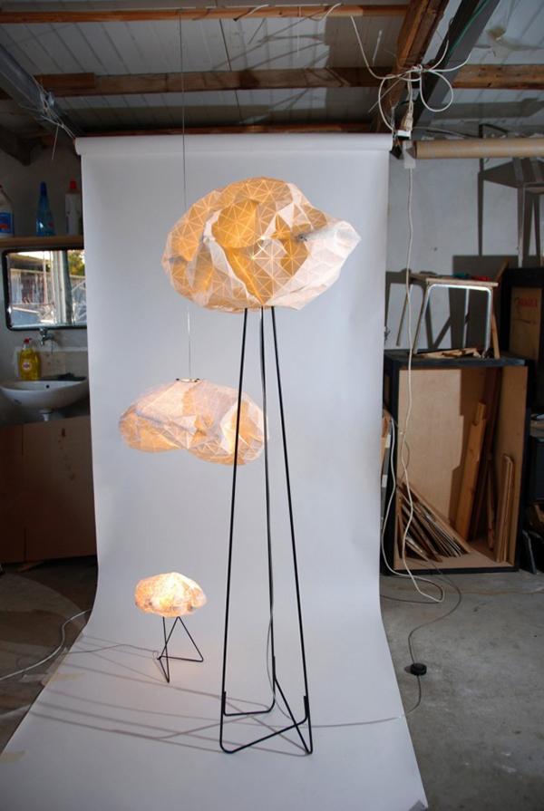 Уникальные дизайн светильника от Микки Бара