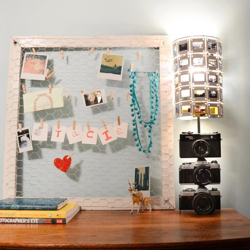 Креативный светильник который украсит комнату