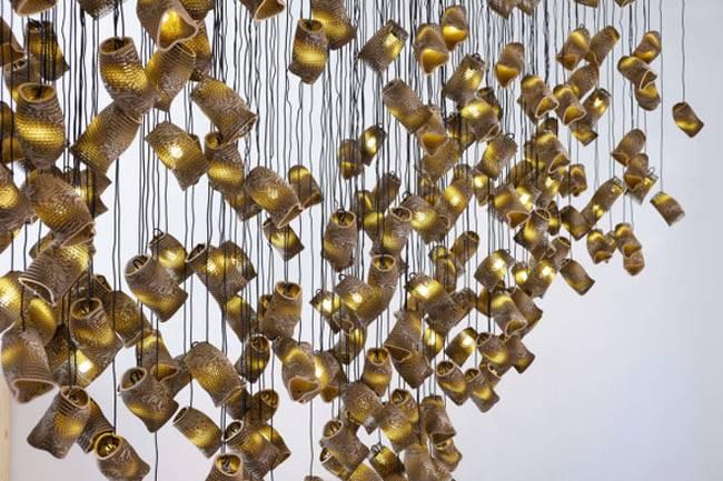 Дизайн ламп из картона - Фото 3