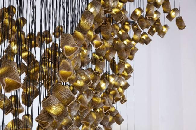 Дизайн ламп из картона - Фото 5
