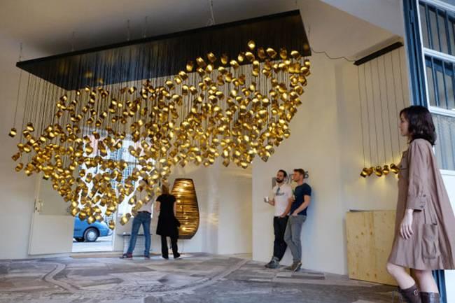 Дизайн ламп из картона - Фото 1