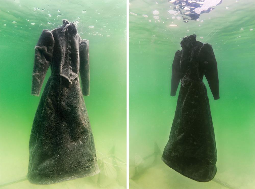 Сигалит Ландау: платье невесты в соляных кристаллах  Мёртвого моря