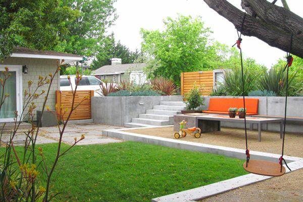 Дизайн уютного внутреннего дворика