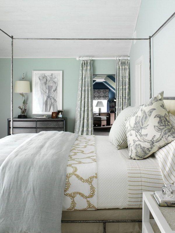 Дизайн интерьера уютной спальни