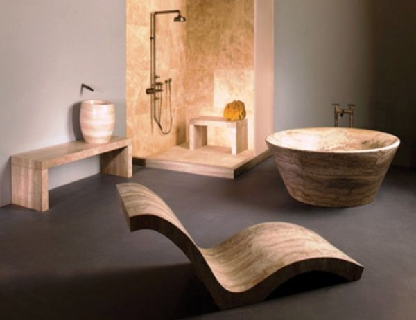 Дизайн интерьера уютной ванной