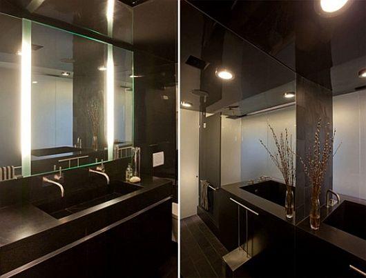 Светодиодная лента в интерьере ванной