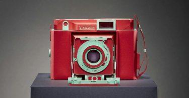 Ли Цзи-Хи: антикварные плёночные фотоаппараты из цветной бумаги