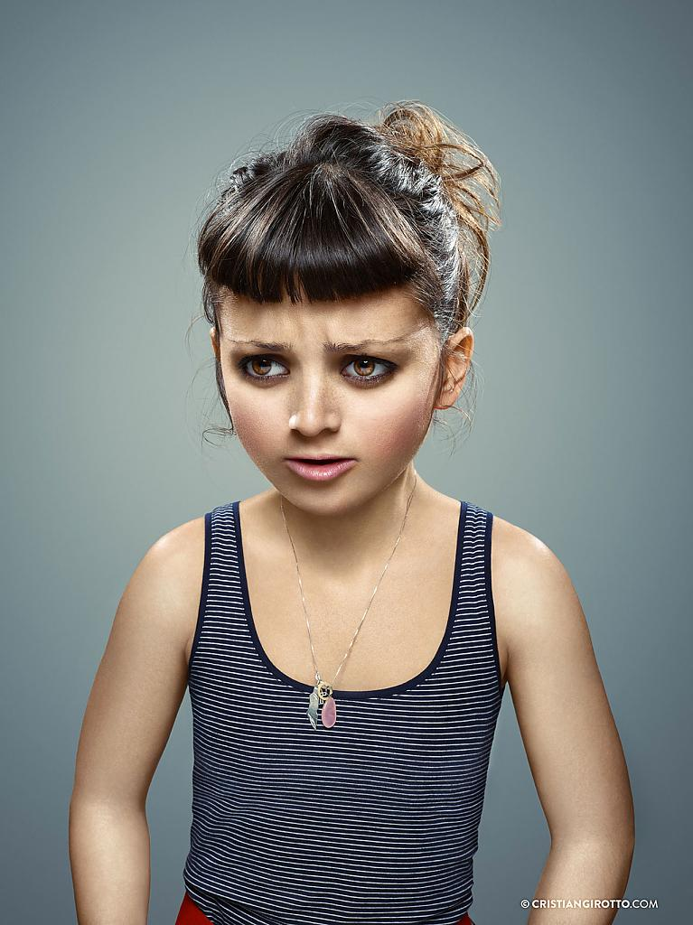 L'Enfant Extérie by Cristian Girotto: original project of adult photographs in children's guises