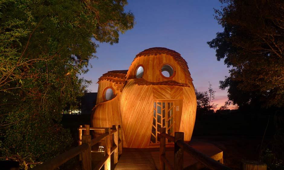 Спальные домики Les Guetteurs от архитектурной студии Zebra3