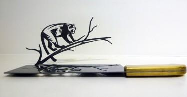 «Тень от ножей»: серия металлических фигурок от Ли Хунбо