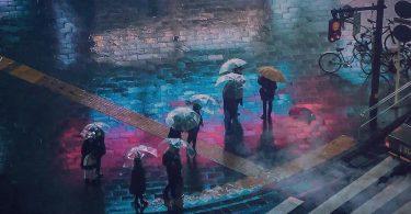 Лиам Вонг: огни ночных столиц Японии и Британии в фотографиях в стиле киберпанк