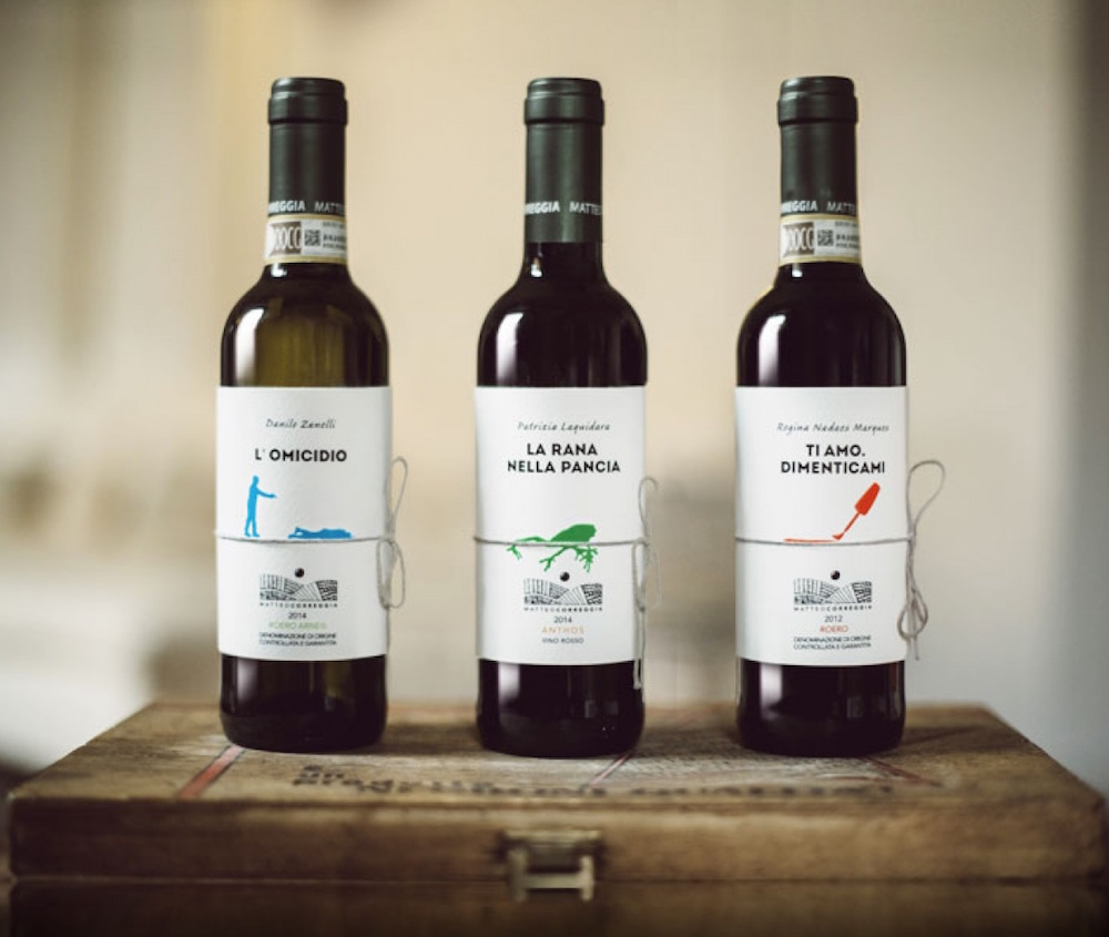 Необычные ярлыки на бутылках из штучной серии Librottiglia
