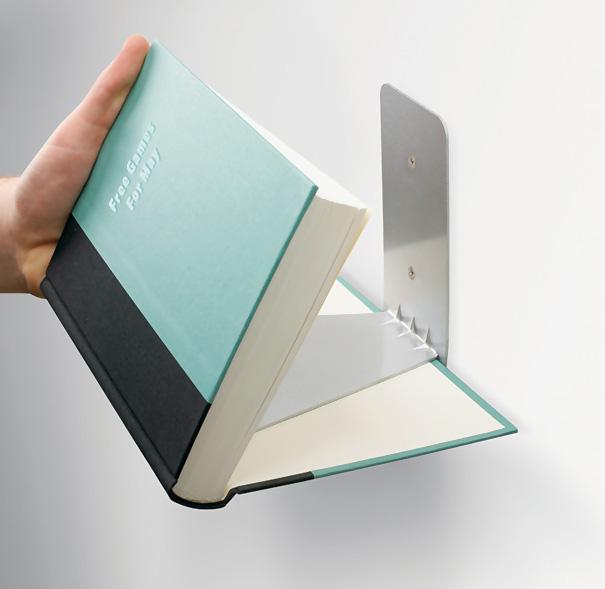 Кронштейн из металла для книг