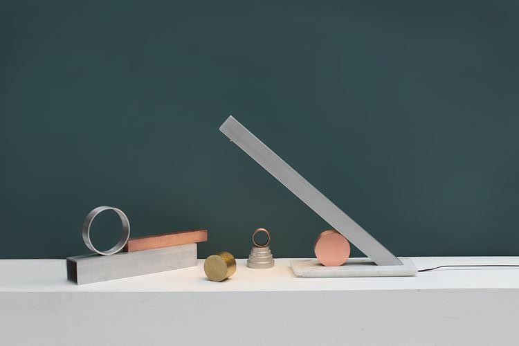 Необычное сочетание материалов в одном светильнике