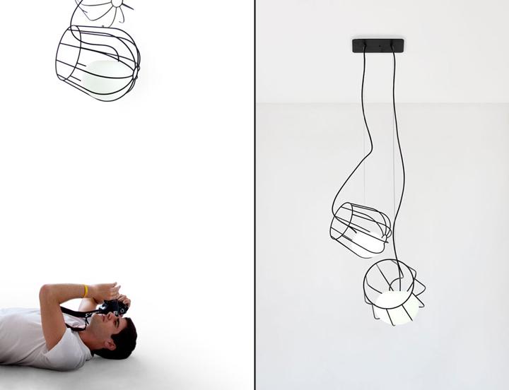 Подвесные Light Container от креативщика Martín Azúa