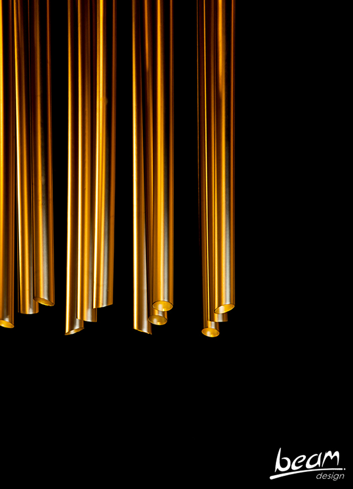 Восхитительный световая инсталляция от BeamDesign в Израиле