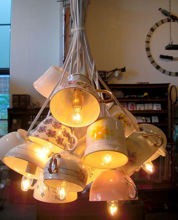 Декор лампы своими руками дома