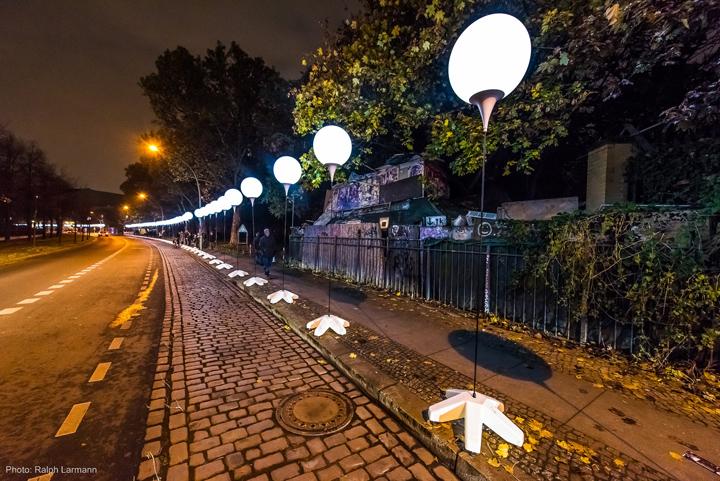 Осветительные установки по жилой части города Берлина