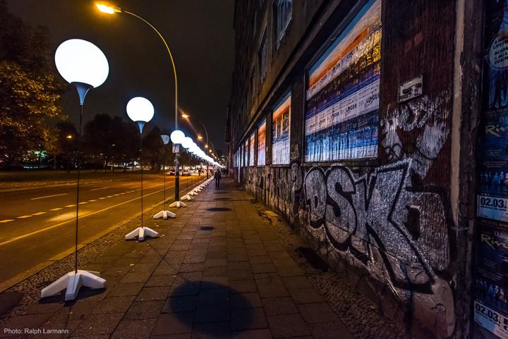 Осветительные установки на автостраде Берлина