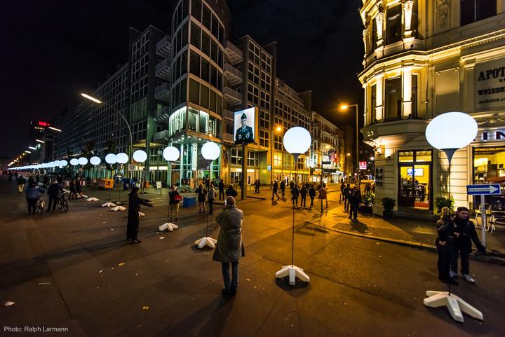 Осветительные установки в центри Берлина