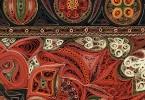 Ковры из свёрнутых рулончиков бумаги от Лизы Нильссон
