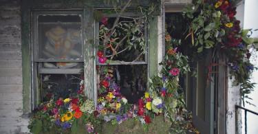 Инсталляция «Цветочный дом» от флориста Лайзы Вод