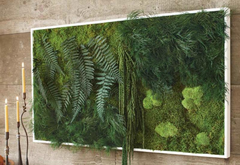 Стена с растений в ванной комнате от James Wong и David Cubero