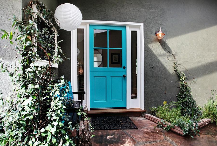Обстановка гостиной по Феншуй - двери